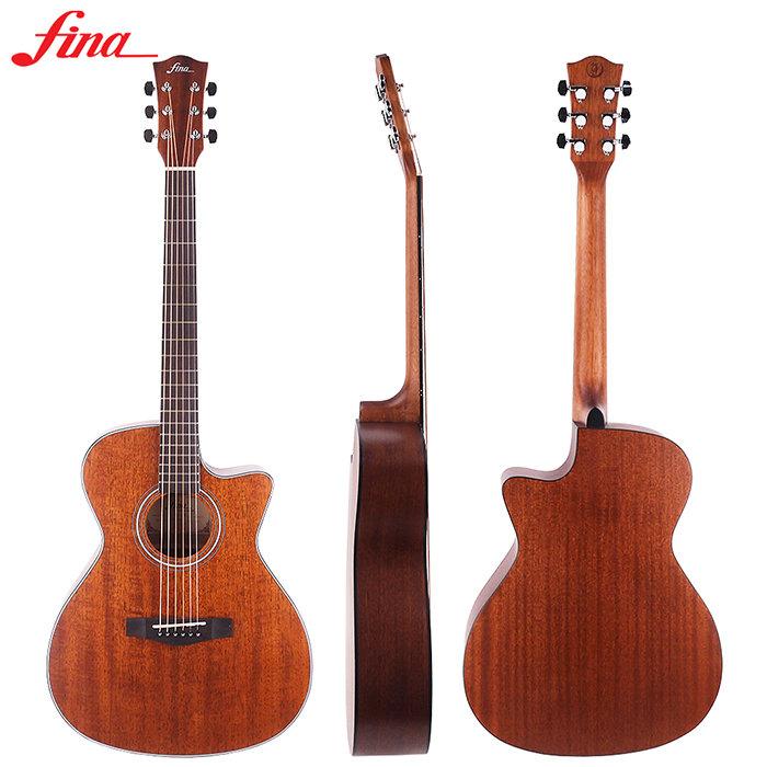~FINA~FGC~768C~A^(M^) 全桃花心木吉他^(平光^)^~
