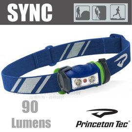 ~法國 PrincetonTec~ SYNC 頭燈  90流明5段燈光模式 LED.防潑水