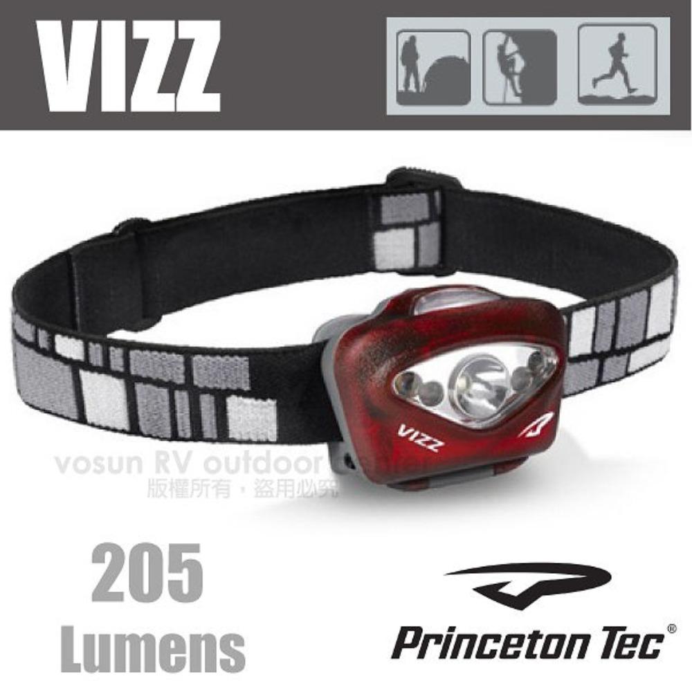 ~法國 PrincetonTec~ VIZZ 頭燈  205流明3段燈光模式 LED適攀岩