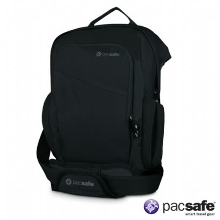 Pacsafe 9L VENTURESAFE300GII直側背包(黑色)