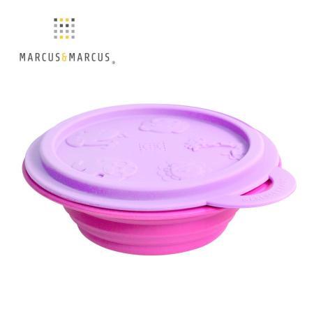 【MARCUS&MARCUS】動物樂園矽膠摺疊碗-鯨魚