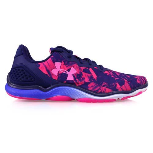 ^(女^) UNDER ARMOUR UA STINGTR2訓練鞋~ 健身 路跑 藍紫桃紅