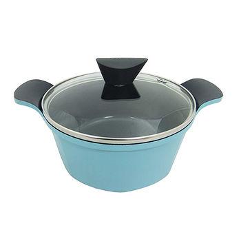韓國neoflam VENN系列湯鍋帶蓋淺藍色(24cm)