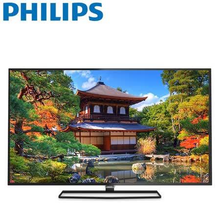 PHILIPS飛利浦55吋 4KUHD高畫質聯網智慧顯示器+視訊盒(55PUH6600)送HDMI線+聲寶桌扇+手機藍芽遙控器