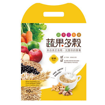 蔬果多穀-堅果穀粉34g*10入