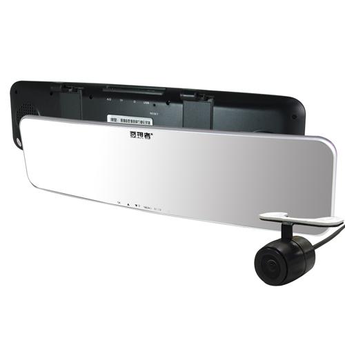 發現者X8D 雙鏡頭行車紀家樂福 行車紀錄器錄器 曲面鏡 倒車顯影 德國蔡司鏡頭 (送8GC10記憶卡)
