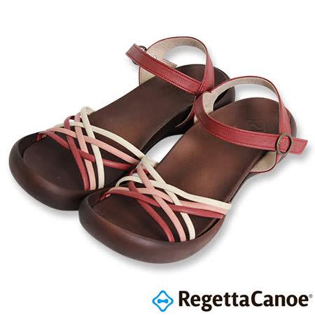 RegettaCanoe _(女款)CJFD-5311優雅樂步休閒鞋-紅色