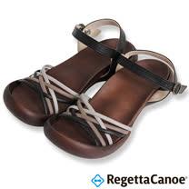 RegettaCanoe _(女款)CJFD-5311優雅樂步休閒鞋-經典黑