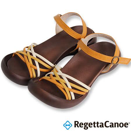 RegettaCanoe _(女款)CJFD-5311優雅樂步休閒鞋-橘黃色