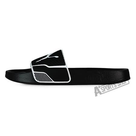 PUMA (男) 彪馬 LEADCAT TS 拖鞋 黑-36063204