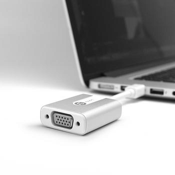 【亞果元素】M1 Adapter Mini DisplayPort對VGA轉接器