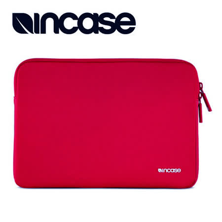 【INCASE】Neoprene Classic Sleeve 15吋 經典尼龍防震保護筆電內袋 (紅)