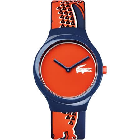 Lacoste Goa 鱷魚法式玩色運動時尚錶-藍/40mm L2020113