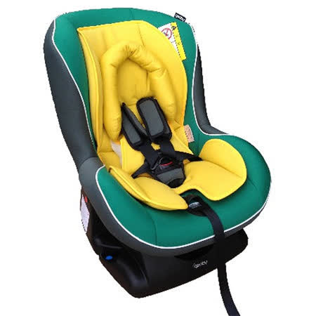 geoby CS800E-H汽車安全座椅(灰色/綠色)