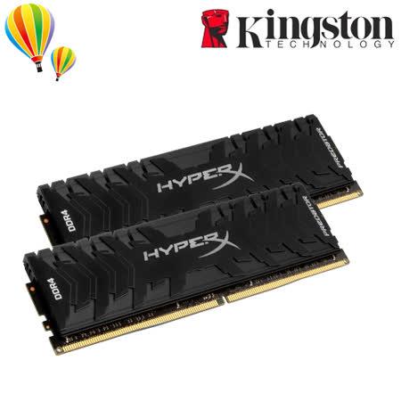 金士頓 HyperX Predator HX430C15PB3K2/32  (3000MHZ/16GB*2) DDR4 桌上型超頻記憶體