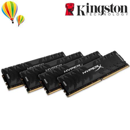 金士頓 HyperX Predator HX430C15PB3K4/32  (3000MHZ/8GB*4) DDR4 超頻記憶體