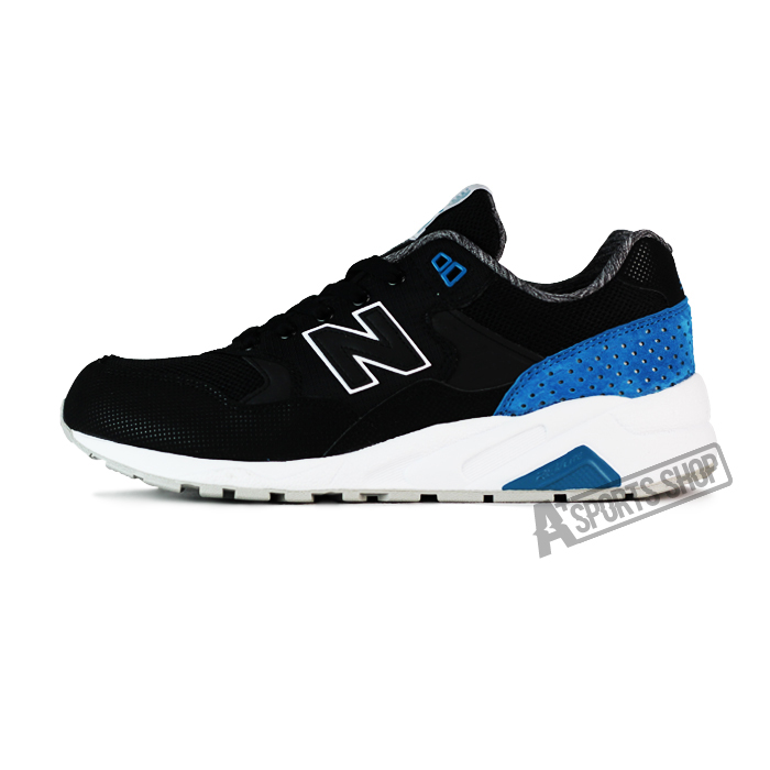 NEW BALANCE (男) 紐巴倫 TIER 2 復古鞋 黑-MRT580MN