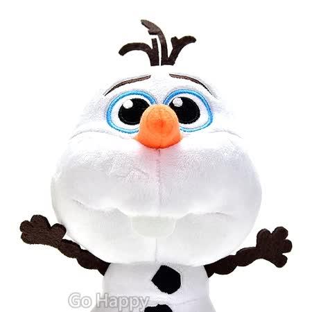 Disney冰雪奇緣【QQ雪寶】絨毛玩偶