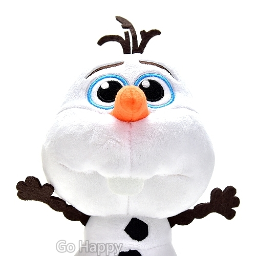 Disney冰雪奇緣~QQ雪寶~絨毛玩偶