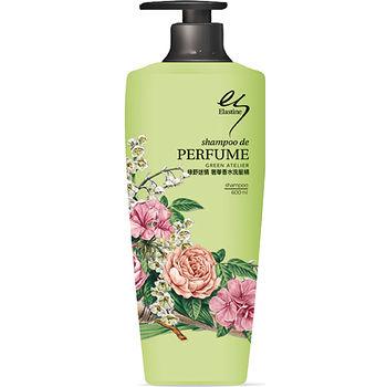 ELASTINE綠野迷情奢華香水洗髮精600ml