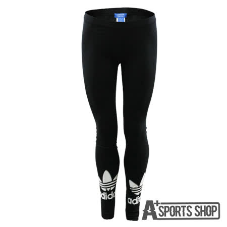 ADIDAS (女) 愛迪達 TRF LEGGINGS 緊身褲 黑-AJ8153