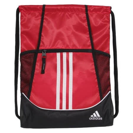 【Adidas】2016時尚聯盟紅色抽繩後背包【預購】