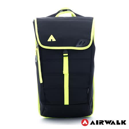 AIRWALK - 輕量簡易造型後背包 - 黑