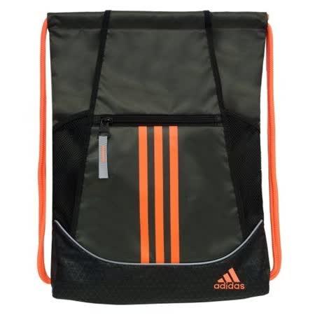【Adidas】2016時尚聯盟瑪瑙黑色抽繩後背包【預購】