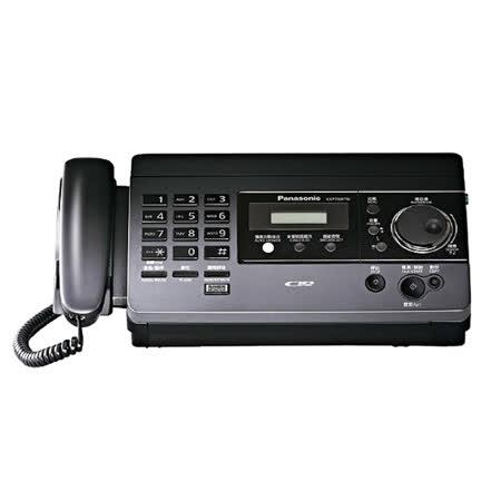 Panasonic 國際牌感熱紙傳真機 KX-FT518 (時尚黑)