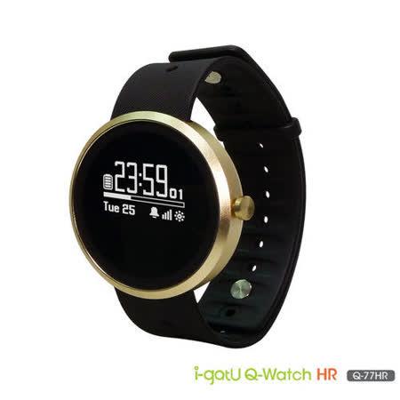 i-gotU Q-Watch Q77HR 藍牙腕式心率智慧健身手錶 - Q-77HR