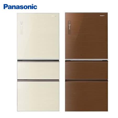 Panasonic 國際牌610公升雙科技無邊框變頻三門冰箱NR-C618NHG