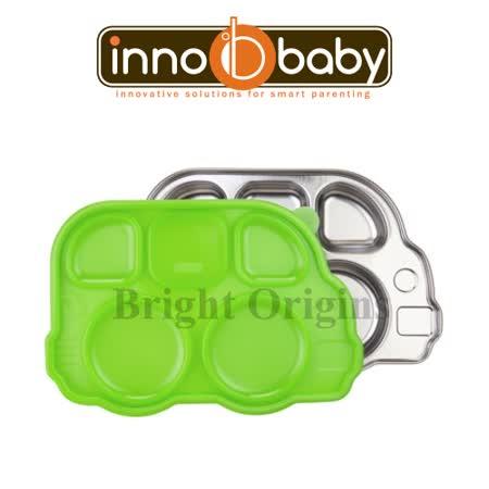 Innobaby 不銹鋼兒童餐具 巴士餐盤 Din Din SMART™(蘋果綠)