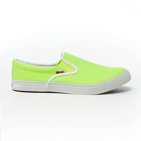 AIRWALK(男) - 無盡青春至尊系列 懶人式直套帆布鞋 - 螢光黃