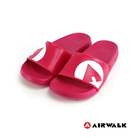 AIRWALK(男) - 輕盈舒適中性EVA休閒多功能室內外拖鞋 - 桃紅