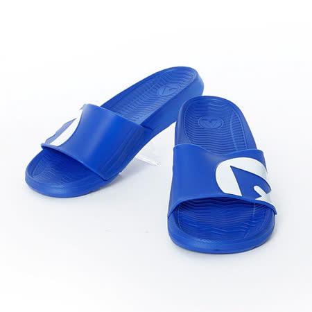 AIRWALK(男) - 輕盈舒適中性EVA休閒多功能室內外拖鞋 - 藍