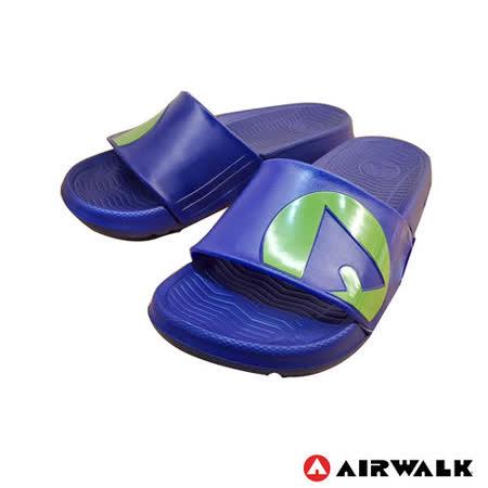 AIRWALK(男) - 輕盈舒適中性EVA休閒多功能室內外拖鞋 - 深藍