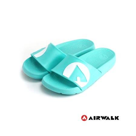 AIRWALK(男) - 輕盈舒適中性EVA休閒多功能室內外拖鞋 - 藍綠