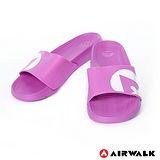 AIRWALK - 輕盈舒適中性EVA休閒多功能室內外拖鞋 - 紫