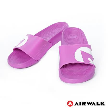 AIRWALK(男) - 輕盈舒適中性EVA休閒多功能室內外拖鞋 - 紫