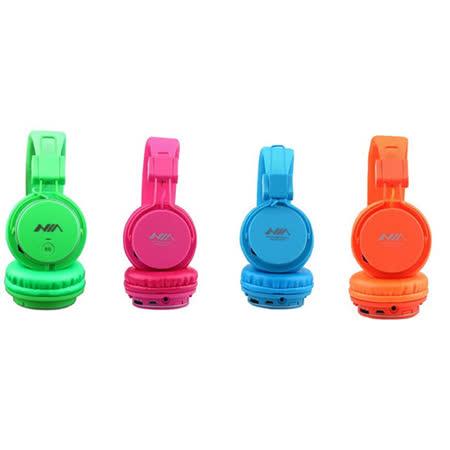 ROMIX / NIA 插卡式(可當MP3)/ FM / 手機可用耳罩式耳機