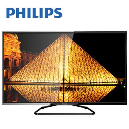 PHILIPS 飛利浦 48吋5250系列LED液晶顯示器+視訊盒48PFH5250 含運送+送尚朋堂10人份電子鍋