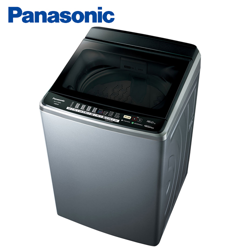 Panasonic 國際牌 15公斤雙科技表裡不銹鋼變頻洗衣機 NA-V168BBS