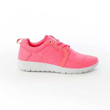 AIRWALK(女) - 無限挑戰舒適輕量慢跑鞋 - 螢橘