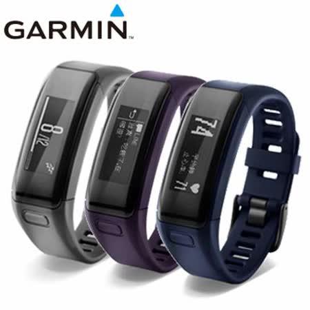 GARMIN vivosmart HR 腕式心率智慧手環-黑色
