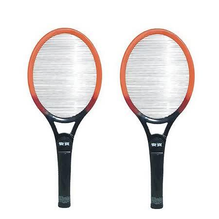 『安寶』☆強力大型電子電蚊拍-電池式 AB-9902 *2入