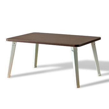 超值和室摺疊桌-胡桃木色 BQ-VR40BR