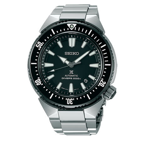 SEIKO PROSPEX 潛水機黑水鬼時尚機械腕錶-42mm/ 6R15-03G0D(SBDC039J)