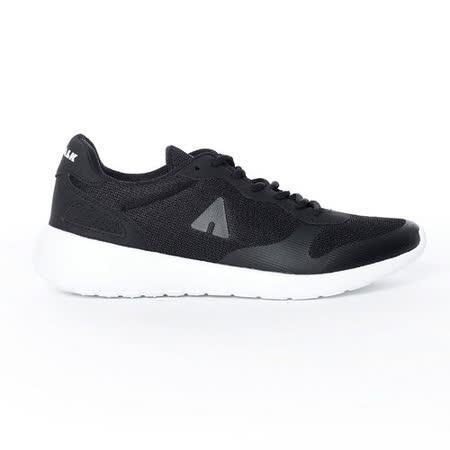 AIRWALK(男) - 運動風潮透氣輕盈休閒慢跑鞋 - 黑
