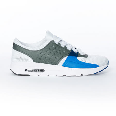 AIRWALK(男) - 復古潮流異材拼接運動鞋 - 白藍灰