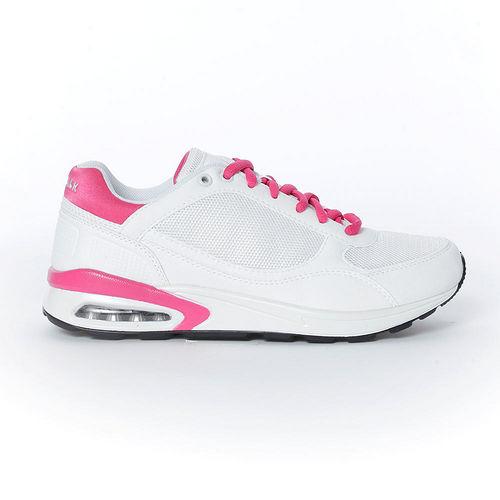 AIRWALK^(女^) ~ 輕量氣墊休閒鞋 ~ 白粉